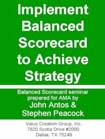 Balanced Scorecard Performance Management
